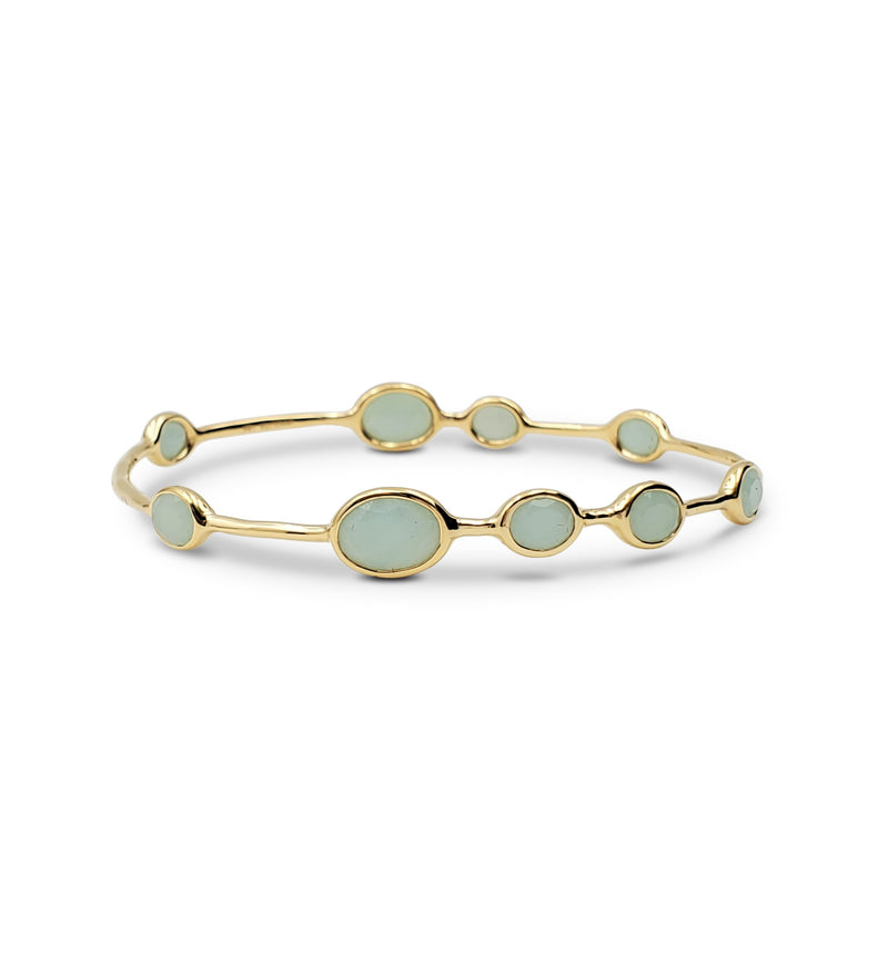 Ippolita Rock Candy Yellow Gold Gemstone Bangle