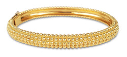 Van Cleef & Arpels Perlée Yellow Gold Bangle