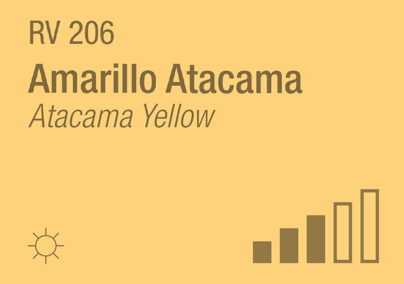 Atacama Yellow RV-206