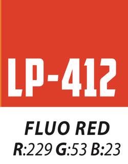 412 Fluorescent Red