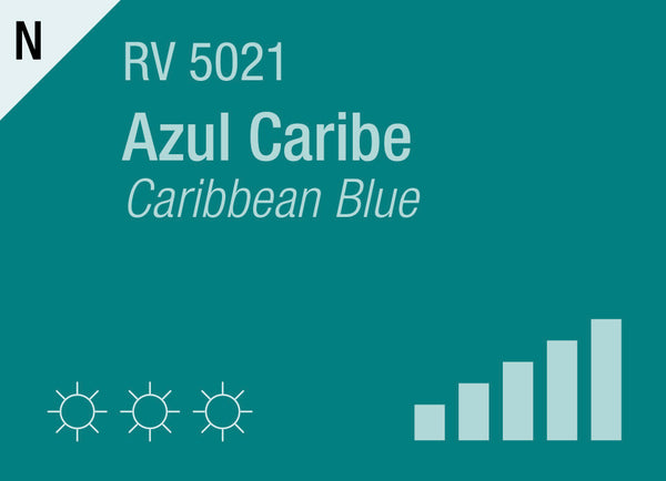 Caribbean Blue RV-5021