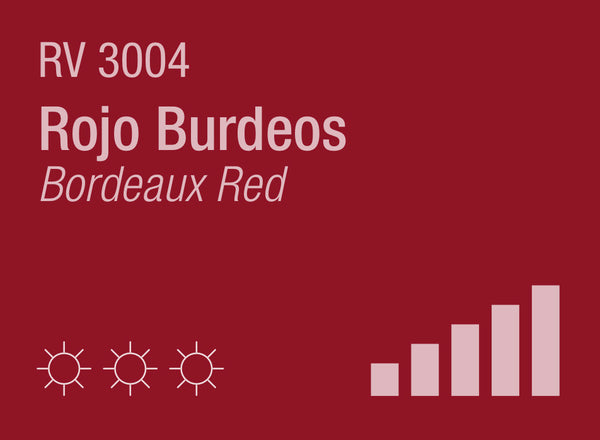 Bordeaux Red RV-3004