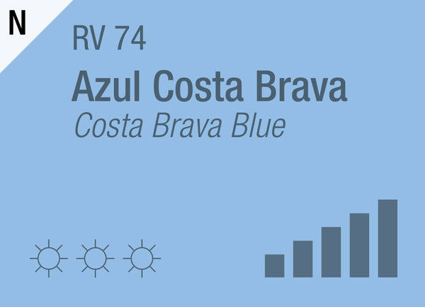 Costa Brava Blue RV-74