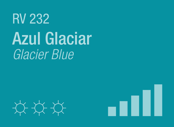 Glacier Blue RV-232