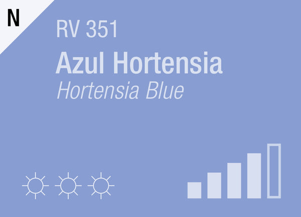 Hortensia Blue RV-351