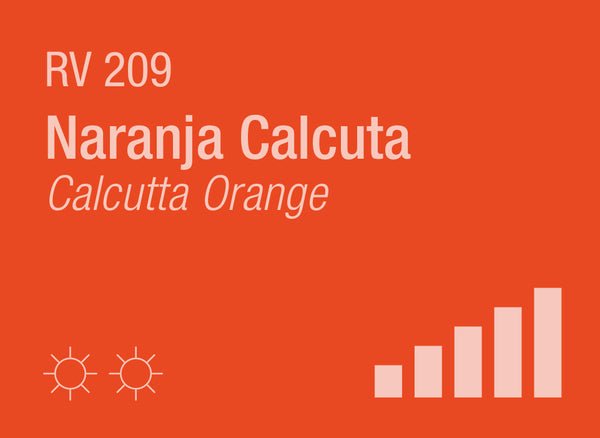 Calcutta Orange RV-209