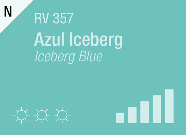 Iceberg Blue RV-357