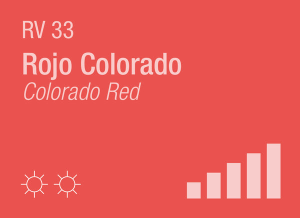 Colorado Red RV-33