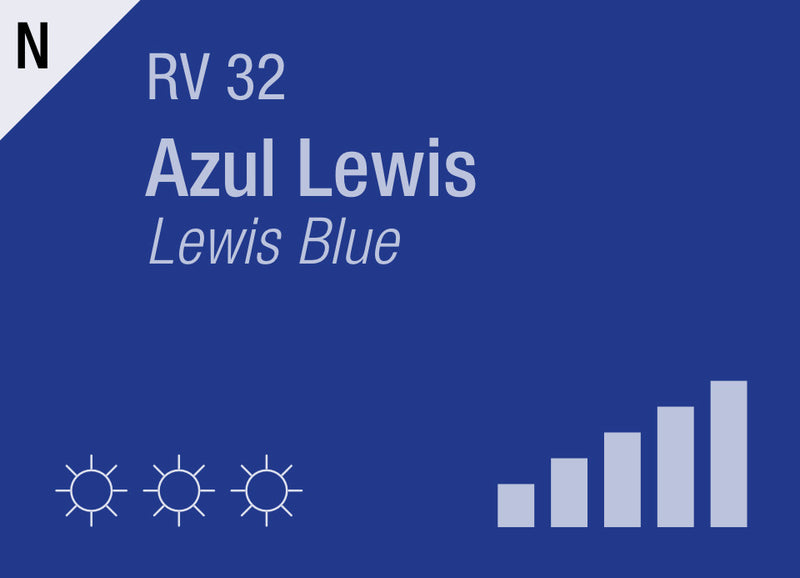Lewis Blue RV-32