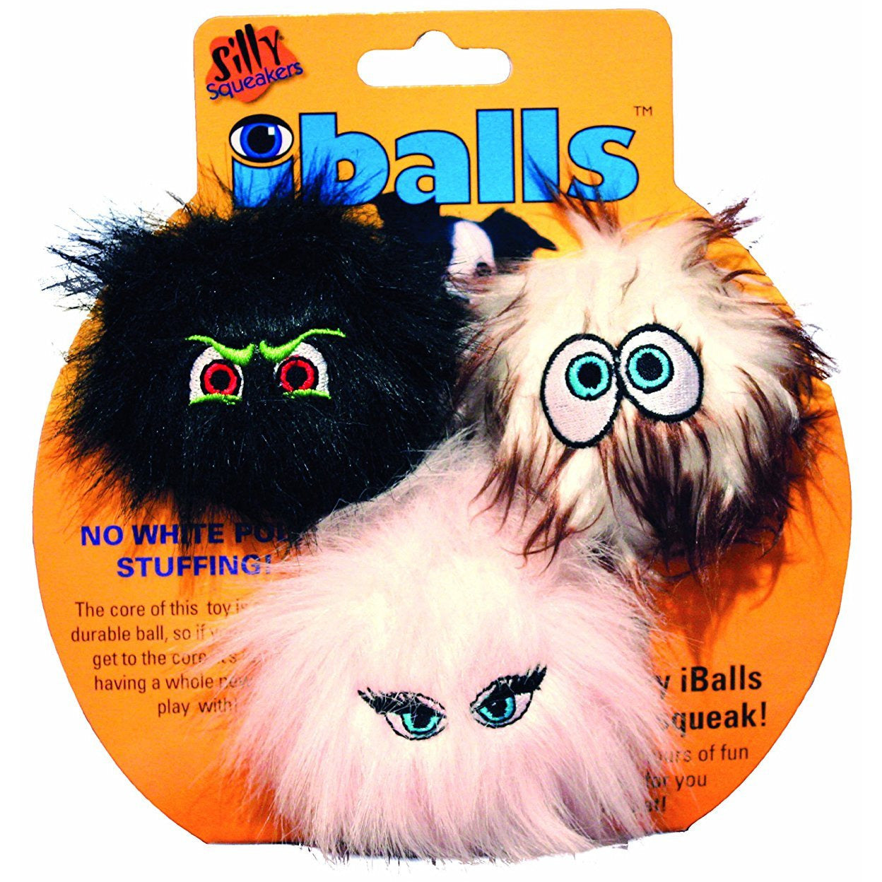 Silly Squeakers Iballs | Small Tri-Pack Dog Toys