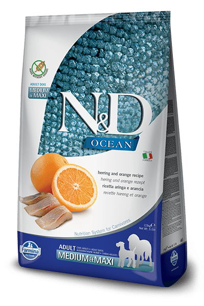 Farmina N&D | Ocean Codfish & Orange | Ancestral Grain