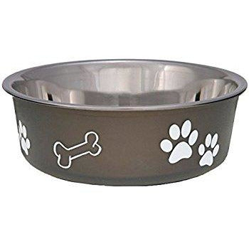 Bella | Metallic Pet Food Bowls