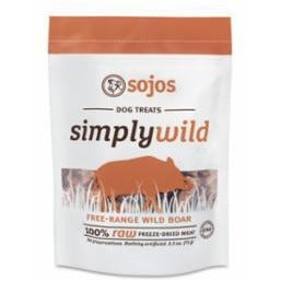 Sojos | Simply Raw Freeze Dried Dog Treats
