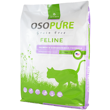 OSOPure Grain Free Salmon Dry Cat Food