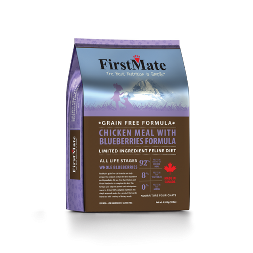 FirstMate | Grain-Free Chicken with Blueberries | Dry Cat Food