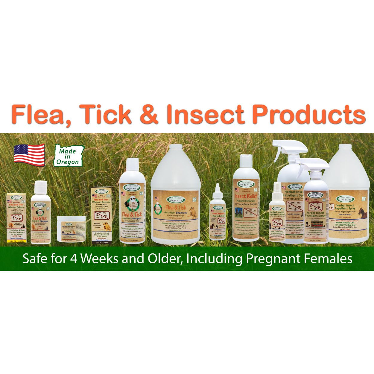 Mad About Organics | Herbal Insect Repellent Spray