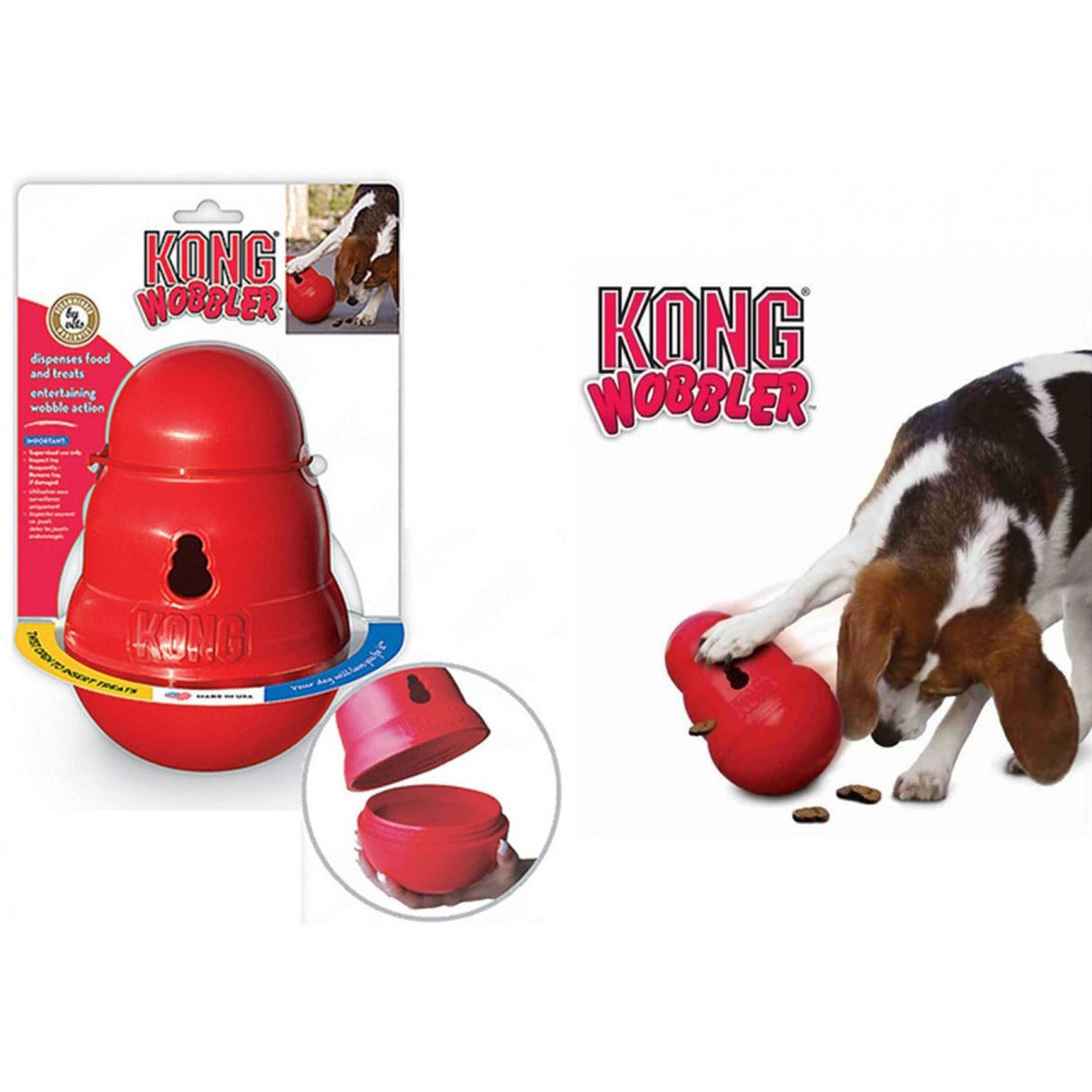 Kong | Wobbler Food & Treat Dispenser