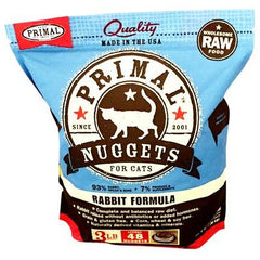 Primal | Raw Cat Food Nuggets