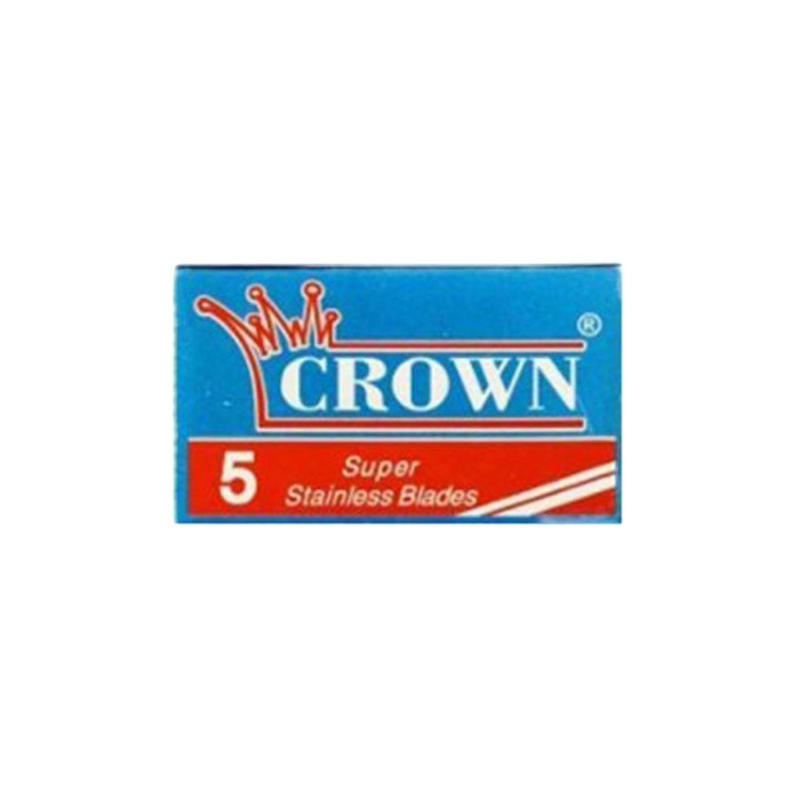 Crown Super Stainless Double Edge Blades (5 Pack)