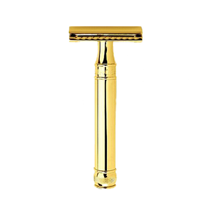 Ed. Jagger DE8911GBL - Smooth Gold Safety Razor