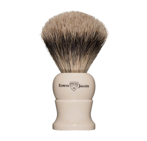 Edwin Jagger 1ej287 - Super Badger Brush - Ivory