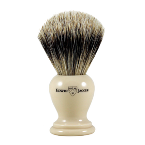 Edwin Jagger 1ej367 - Super Badger Brush - Ivory