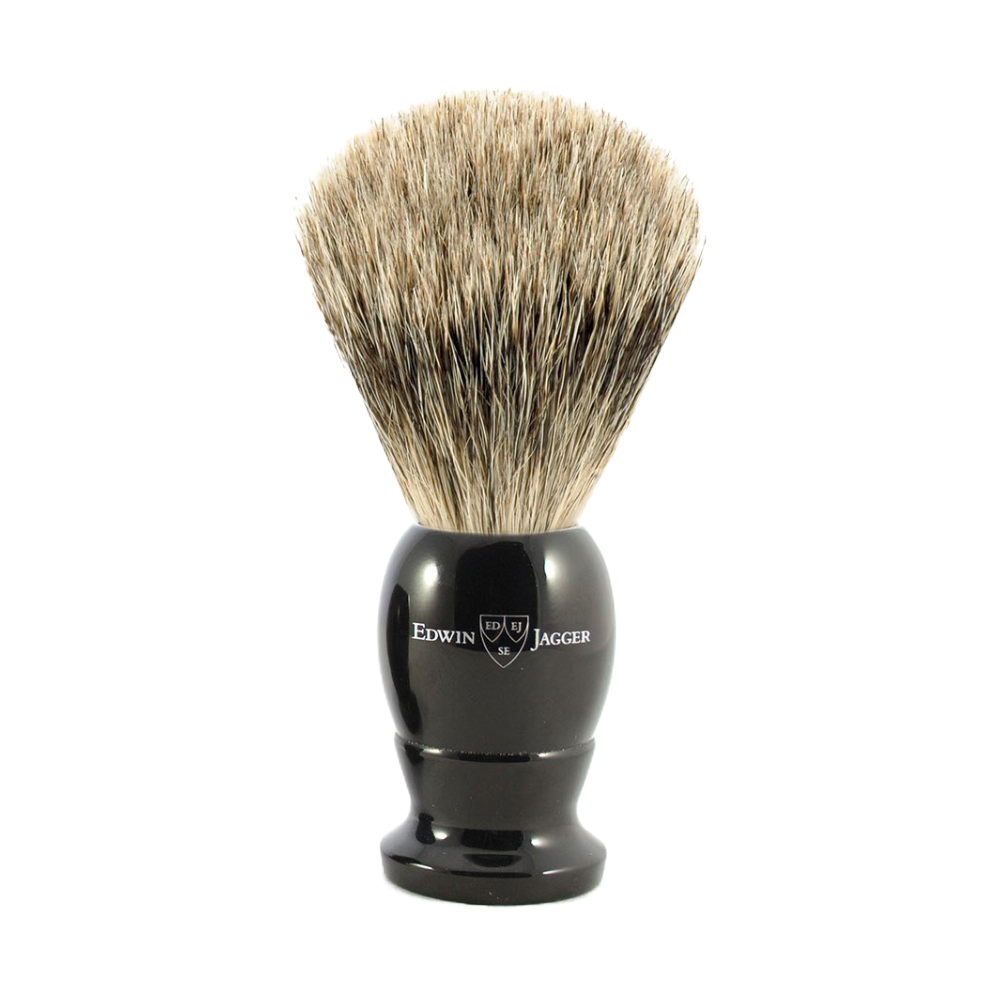 Edwin Jagger 9EJ876 - Best Badger Brush - Ebony