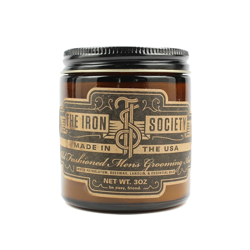 The Iron Society - Old Fashioned Men's Grooming Aid Hair Pomade