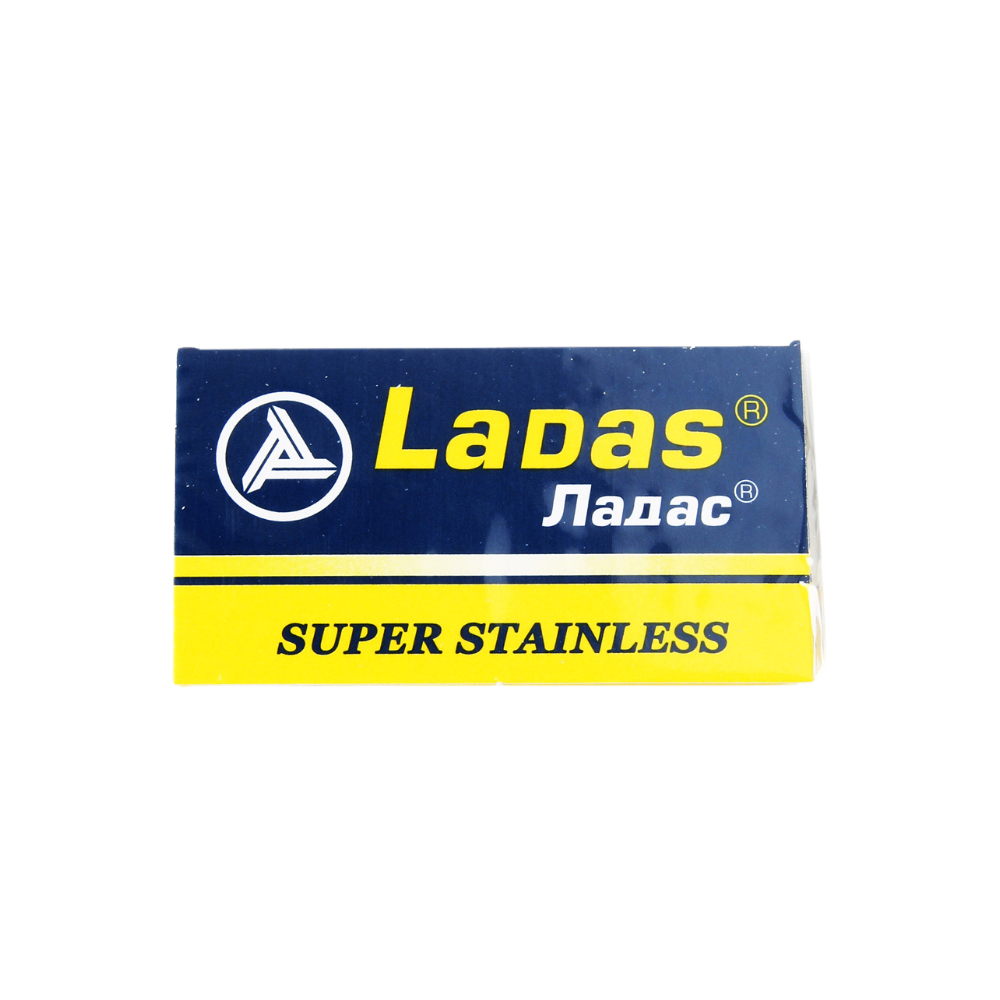Ladas Super Stainless Double Edge Razor Blades (5 Per Pack)