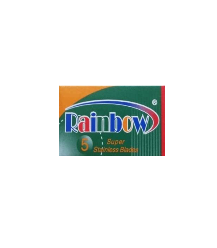 Lord Rainbow Plus Stainless Steel Razor Blades - (5 Per Pack)