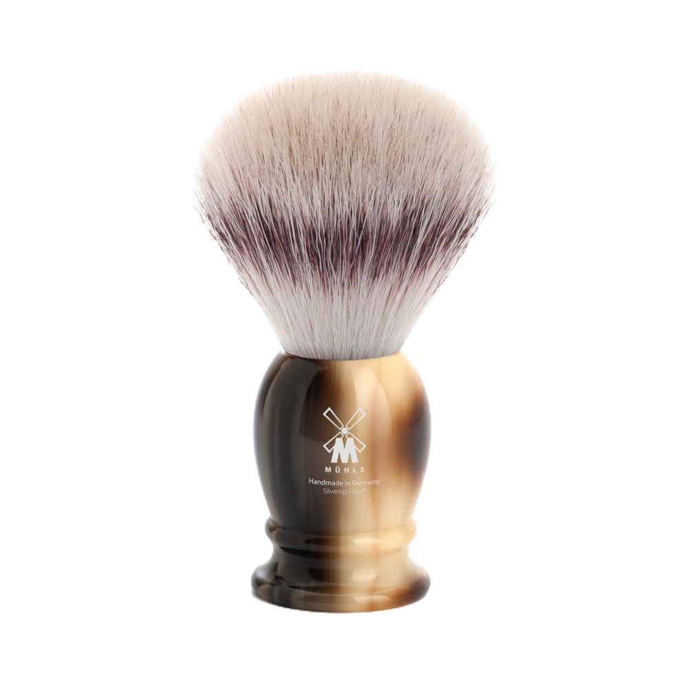Muhle 31k252 - Synthetic SilverTip - Brown Horn