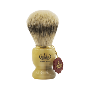 Omega 621 - Silvertip Badger Shaving Brush