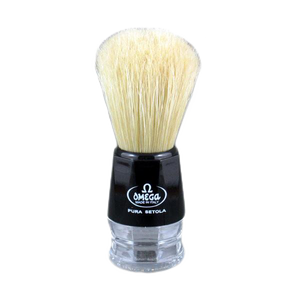 Omega 10019 - Black and Crystal Boar Brush