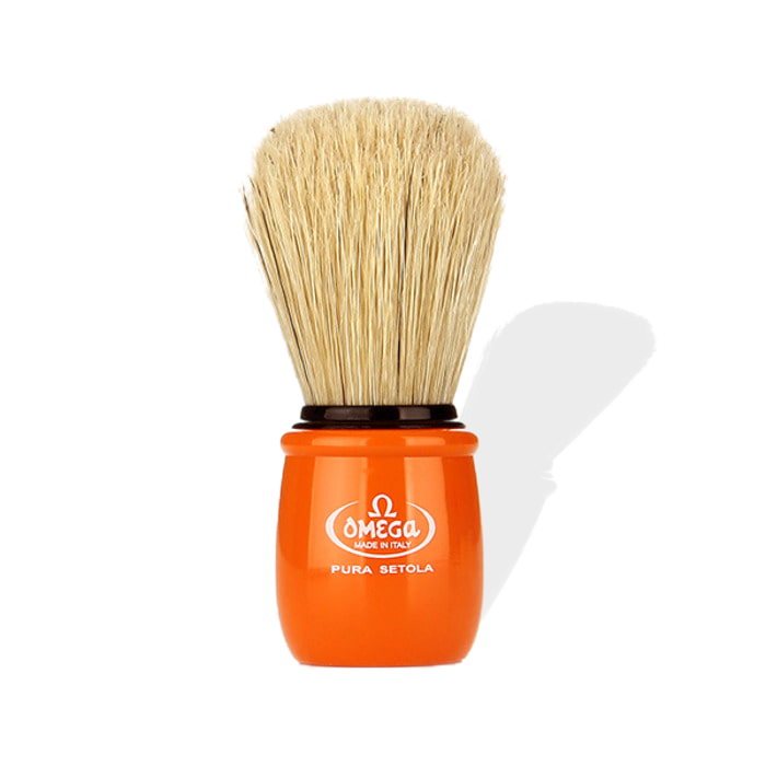 Omega - 10051 Orange Boar Brush