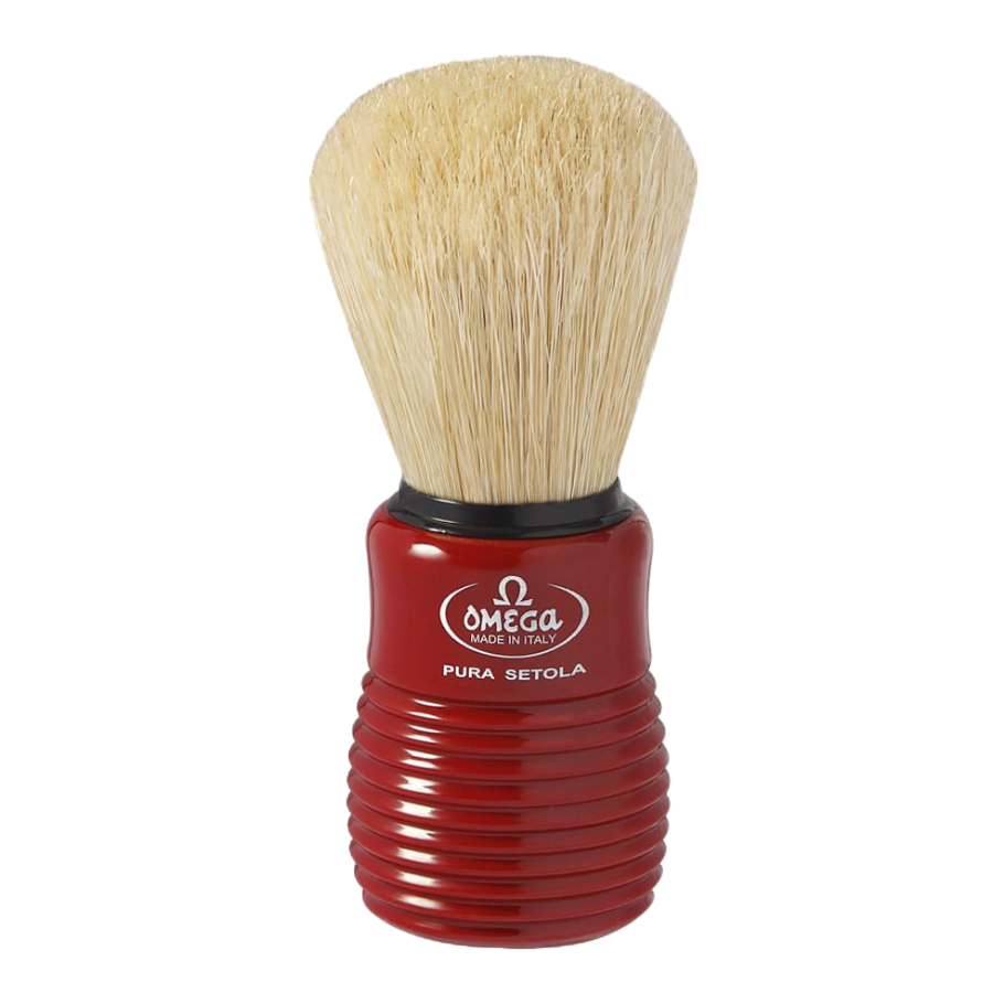 Omega 10810 - Pure Boar Bristle Shaving Brush