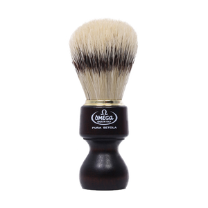 Omega 11126 - Ovangkol Wooden Handle Boar Brush