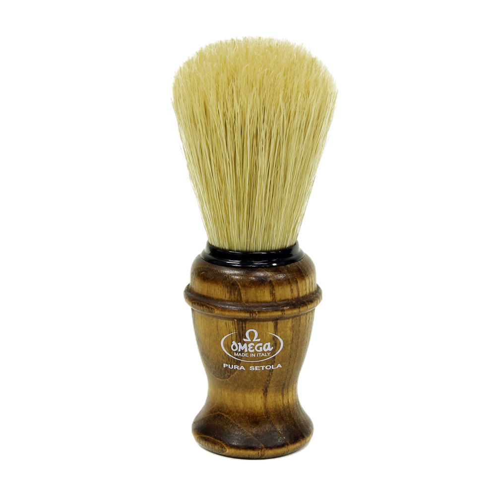 Omega 11137 - Ash Wood Handle Boar Bristle Brush