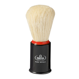 Omega 11148 Pure Bristle Brush (Black, White or Red)