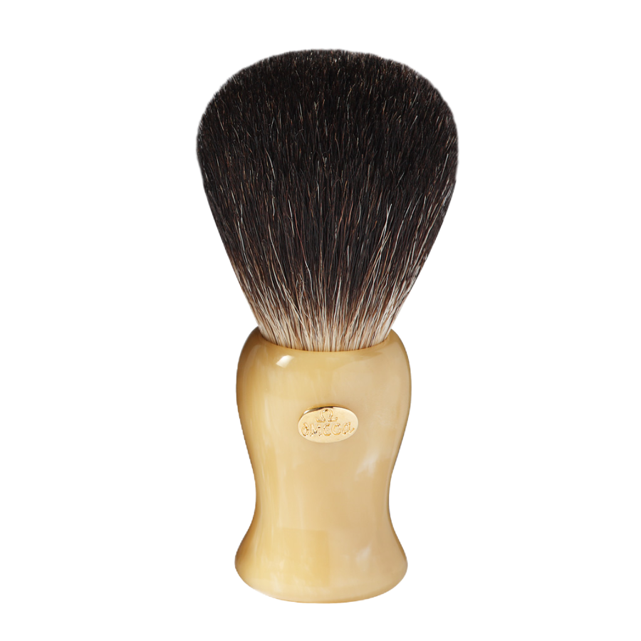 Omega 6222 - Black Badger Omega Shaving Brush