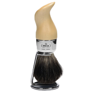 Omega 6553 - Maple Pure Brush w/ Stand