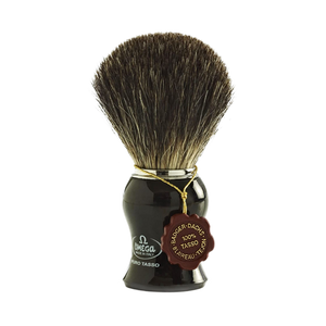 Omega 6649 - Pure Badger Hair Shaving Brush