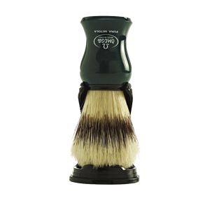 Omega 80265 - Pure Boar Brush w/ Stand (Yellow, Green or Blue)