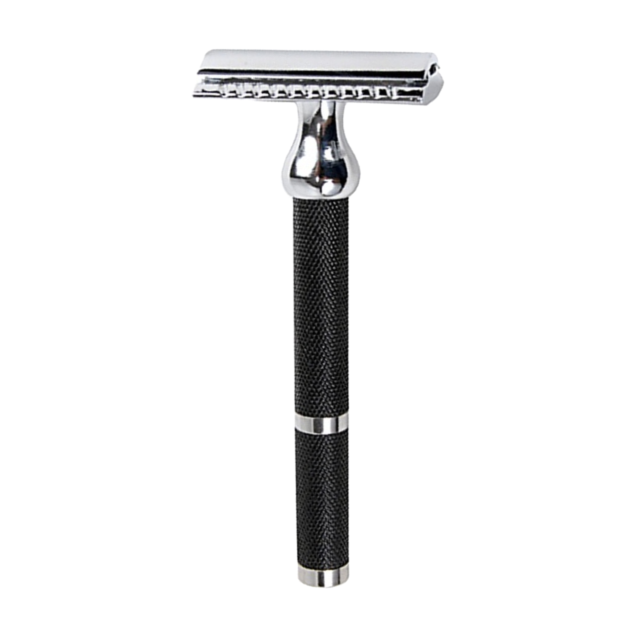 Parker 71R - Long Handle Black and Chrome Safety Razor