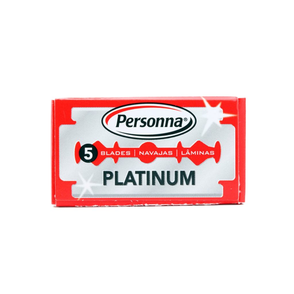 Personna - Israel Red - Platinum Double Edge Blades