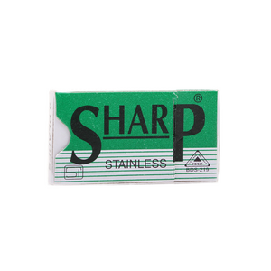 SHARP Stainless Steel Razor Blades (5 Per Pack)