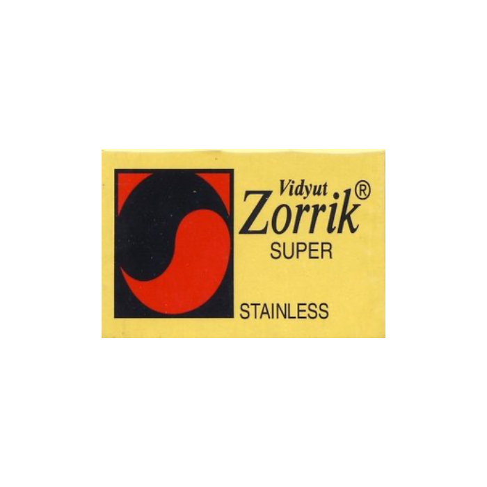Zorrick Super Stainless Double Edge Razor Blades (5 Per Pack)