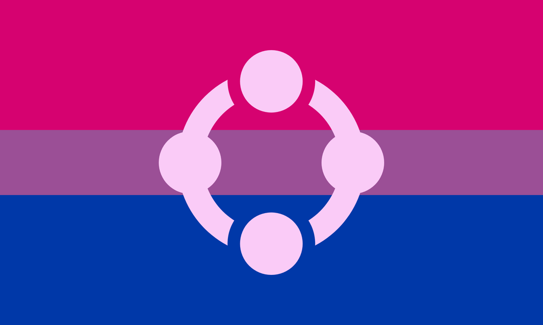 Bi Pride Fetish Flag