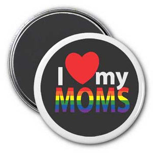 I (Heart) My Moms Magnet