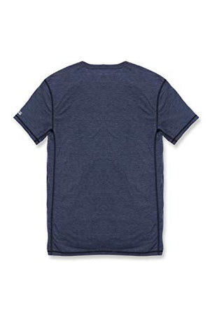 Carhartt Men's 102960 Force Extremes Short Sleeve T-Shirt - X-Large - Navy Heather