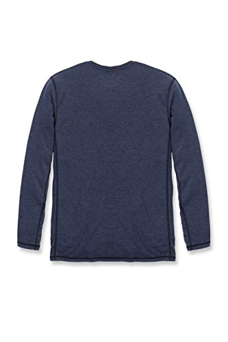 Carhartt Men's 102998 Force Extremes Long Sleeve T-Shirt - X-Large - Navy Heather